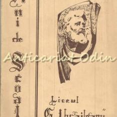 Garabet Ibraileanu. Ani De Scoala. Nr. 8/1972 - D. Murgoci