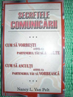 SECRETELE COMUNICARII - NANCY L.VAN PELT foto