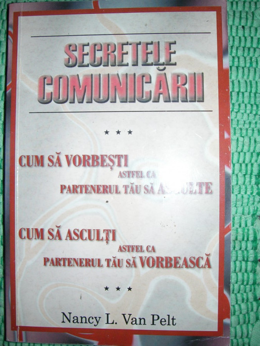 SECRETELE COMUNICARII - NANCY L.VAN PELT