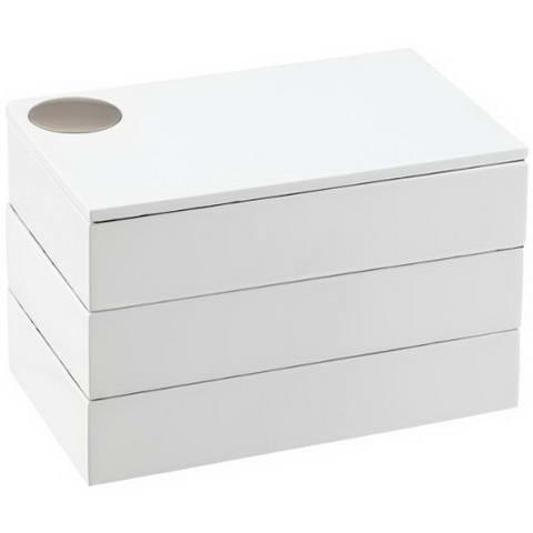 Caseta bijuterii spindle white-282437