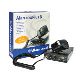 Resigilat : Statie radio CB Midland Alan 100 Plus B Romania Cod C442.11