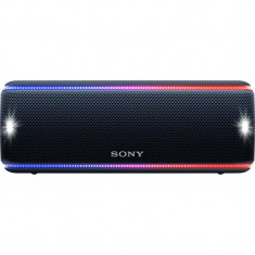 Boxa portabila Sony SRS-XB31, EXTRA BASS, LIVE SOUND, Bluetooth, NFC, Wi-Fi, Wireless Party Chain, Party Booster, Rezistenta la apa, Efect de lumini,
