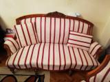 Set mobilier Empire, canapea 3 locuri si 3 fotolii, stare exceptionala