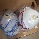 Masca cu filtru bacterian 3M FFP2/V CU SUPAPA, CATEGORIA PPE III, CE0194 UK