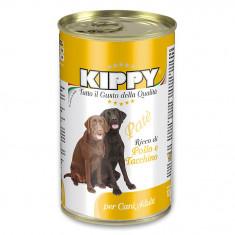 Pate Kippy dog, cu pui si curcan, 1250g