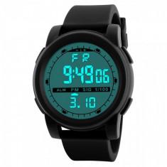 Ceas Barbatesc, curea silicon, digital watch foto