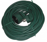 Cablu prelungitor 5m 1.0mm verde IP20, well