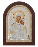Icoana argintata Maica Domnului Amolyntos 20x26 cm Cod Produs 1550