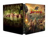 Jumanji: Aventura in jungla / Jumanji: Welcome to the Jungle - BLU-RAY 3D + 2D (Steelbook) Mania Film