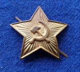 Insigna Militara insemn SECERA si CIOCANUL - Coifura insemn cascheta