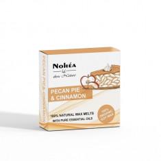 Pastile parfumate din ceara de soia, Pecan Pie & Cinnamon, Nohea, 40g