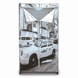 Cumpara ieftin Dulap pentru haine Jocca New York, textil, 87 x 46 x 156 cm, Gri