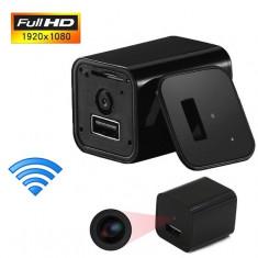 Incarcator De Priza Cu Camera HD IP Wireless