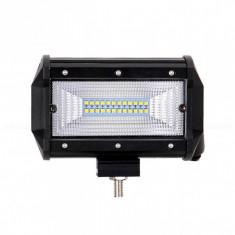 Proiector LED Bar, Off Road, patrat, 72W, 13cm
