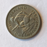 i 321 NOUA ZEELANDA 1 SCHILLING 1961