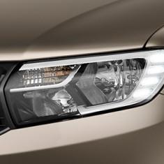 Far original Dacia Logan 2017-> cu lumina de zi cu 4 LED STANGA AL-131219-3