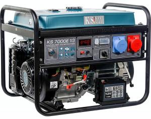 Generator profesional mono/trifazat 5.5 kW, KS 7000E1/3 Könner & Söhnen,benzina