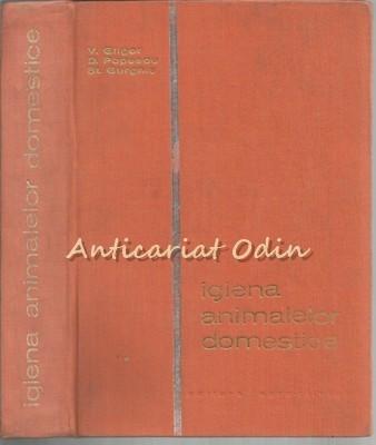 Igiena Animalelor Domestice - Virgil Gligor, Dimitre Popescu - Tiraj: 4350 Ex.