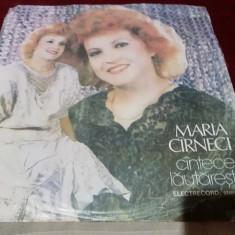 DISC VINIL   MARIA CARNECI - CANTECE LAUTARESTI