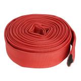 Furtun pompier fara capete Micul Fermier, 20 m, 2 inch, 16 bar, Rosu