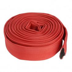 Cumpara ieftin Furtun pompier fara capete Mx, 20 m, 2 inch, 8 bar, Rosu