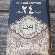 Parfum arabesc, Oud 24 Hours, apa de parfum, 20ml, unisex