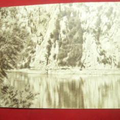 Ilustrata - Dunarea la Cazane circulat 1941 la Giurgiu ,Ed.Soc.Comerciala Turism, Circulata, Printata