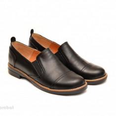Pantofi dama negri casual-eleganti din piele naturala - LICHIDARE STOC 39