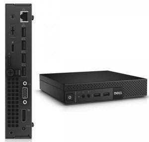 Calculator Dell Optiplex 9020 Micro, Intel Core i5 Gen 4 4590T 2.0 GHz, 8 GB DDR3, 500 GB HDD SATA, Windows 10 Home, 3 Ani Garantie