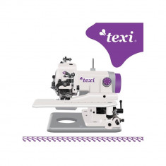 Masina de Cusut Computerizata Texi Compacta Alb / Violet