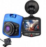 Camera auto Dubla iUni Dash 806, Full HD, 12Mpx, 2.5 Inch, 170 grade, Parking monitor, G senzor, Senzor de miscare, Blue