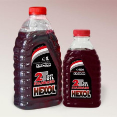 Ulei motor Hexol 2 timpi 0.5L rosu 7699