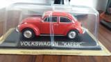 Macheta volkswagen kafer + revista masini de legenda nr.37 - 1/43, noua., 1:43
