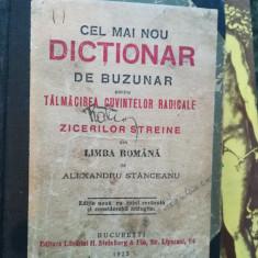 Cel mai nou dictionar de buzunar pentru talmacirea cuvintelor radicale – Alexandru Stanceanu, 1923
