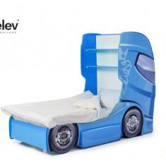 Pat camion DUO SCANIA 1 Albastru