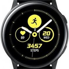 Smartwatch Samsung Galaxy Watch Active, Procesor Dual-Core 1.15GHz, Super AMOLED 1.1inch, 750MB RAM, 4GB Flash, Bluetooth, Wi-Fi, Tizen (Negru)