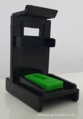 Dispozitiv pentru kit refill incarcare-desfundare cartuse CANON PG540 PG-540XL... foto
