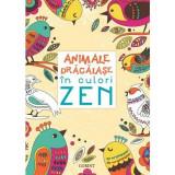 Carte pentru Animale dragalase in culori zen Corint, 4 ani+
