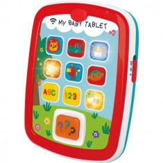 Prima mea tableta cu muzica si lumini Hola Toys