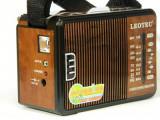 Radio portabil Leotec LT611UC cu MP3, USB, MICRO SD, FM, MW, SW