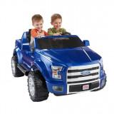 Mașinuță electrică Power Wheels Ford F-150, Albastru, Bleu