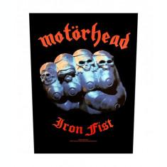 Backpatch Motorhead: Iron Fist Rectangular