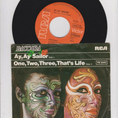 """Baccara - Ay, Ay Sailor (1979, RCA) Disc vinil single 7"""""""