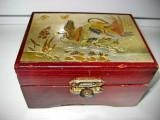 Original Chokin Art Collection-Caseta bijuterii  rate salbatice.