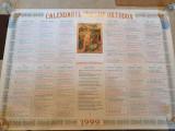 caledar ordotox anul 1999