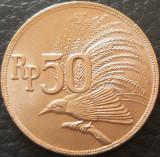 Moneda 50 RUPII / RUPIAH - INDONEZIA, anul 1971 *cod 28, Asia