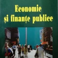 Economie si finante publice