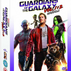 Filme Marvel Guardians Of The Galaxy DVD BoxSet Complete Collection, Engleza, independent productions