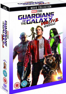 Filme Marvel Guardians Of The Galaxy DVD BoxSet Complete Collection foto