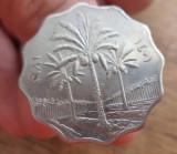 Inel cromat cu moneda 5 fils Irak 1971